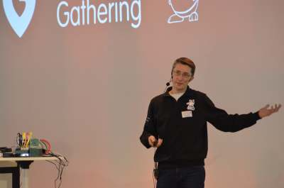Stefan scherer on stage dev ops gathering