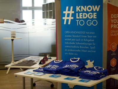 Open knowledge as tshirt sponsor