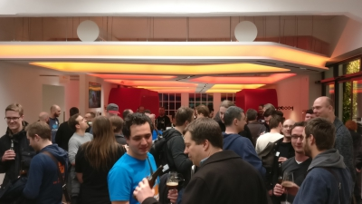 Party night devops gathering 2017